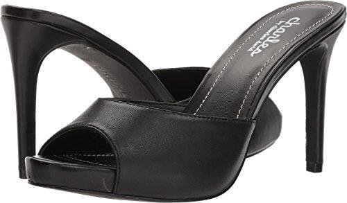 CHARLES BY CHARLES DAVID Women's Carmen Heeled Sandal, Black, 7.5 M US