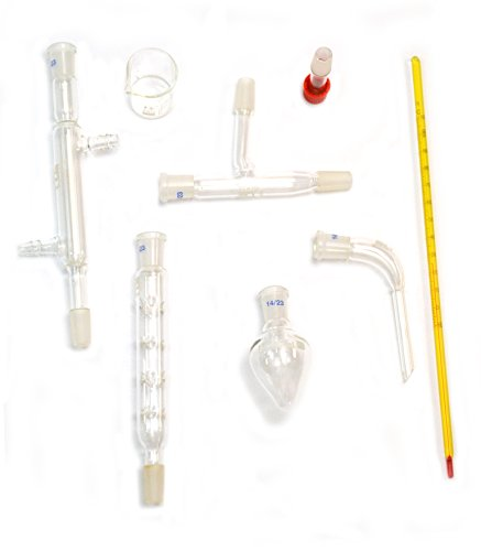 Eisco labs Starter kit for Simple Organic Chemistry - 8 (Chemistry Lab Starter Kit)