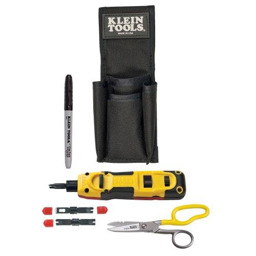 Klein Tools VDV027-813 LAN Installer Starter Kit, Punchdown