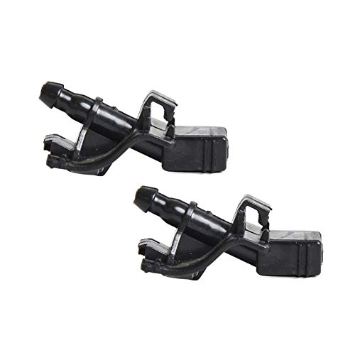 Front Windshield Washer Nozzles Wiper Spray Kit Single Hole for Lexus Scion Toyota (2 pack) Replace # 85381-12300