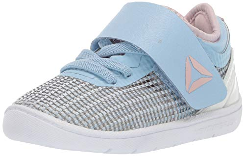 Reebok Girls' Crossfit Nano 8.0 Flexweave Cross Trainer, Denim/Lilac/White, 4 M US ()