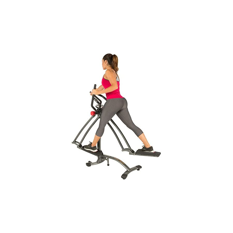 Fitness Reality Dual Action/Multi Direction Air Walker X1 with Heart Pulse Sensors