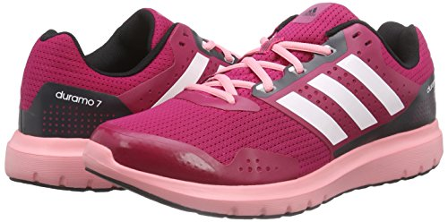 the latest af9d7 125be Adidas Duramo 7 W Zapatillas para mujer,color rojo azul negro,talla 37 1 3  www amazon es el rosa Cordones