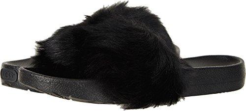 UGG Women's Royale Flat Sandal, Black, 9 M US