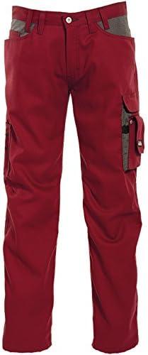 TALLA C56. Tranemo T-More Panama - Pantalones Vaqueros de Trabajo para Hombre