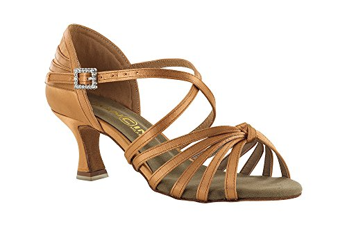 scarpa da ballo con nodino , colore flesh tacco 5,5 cm