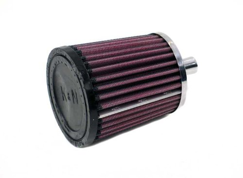 K&N 62-1550 Vent Air Filter / Breather: Vent Air Filter/ Breather; 0.875 in (22 mm) Flange ID; 4 in (102 mm) Height; 3 in (76 mm) Base; 3.5 in (89 mm) Top K&N Engineering
