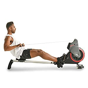 Well-Being-Matters 41zpdWbP3tL._SS300_ Fitness Reality Dual Transmission Fan Rower Rowing Machine with MyCloudFitness App and On Demand Coaching, Black