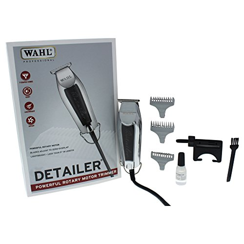 Detailers Professional (Wahl Professional Detailer #8290 – Powerful Rotary Motor – Equipped with T-Blade For Lining and Artwork)
