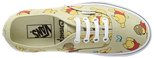 Vans Authentic - Zapatillas Unisex adulto - Multicolor (Disney - Winnie The Pooh/Light Khaki)