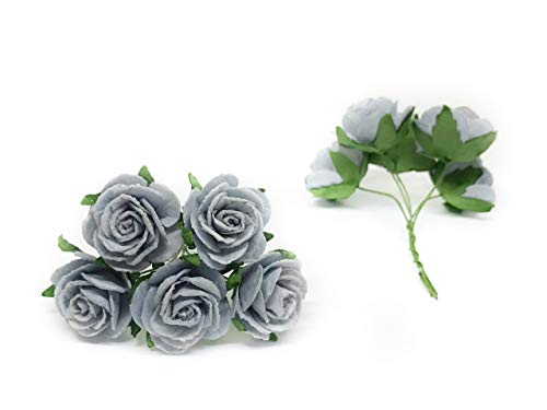 1-Blue-Grey-Paper-Flowers-Paper-Rose-Artificial-Flowers-Fake-Flowers-Artificial-Roses-Paper-Craft-Flowers-Paper-Rose-Flower-Mulberry-Paper-Flowers-20-Pieces