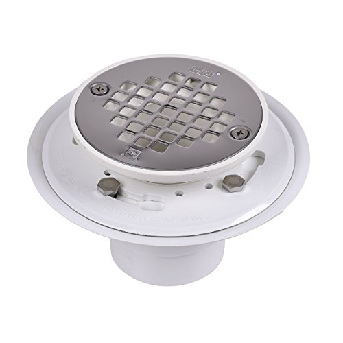 Oatey 42213 Pvc Drain With Stainless Steel Strainer For Tile Shower