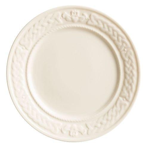 Belleek Claddagh Accent Plate