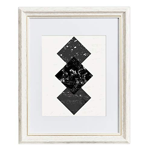 Amazon Com 11x14 Picture Frame White Matted To 8x10
