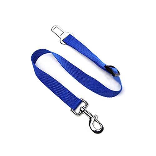 ZZmeet Vehicle Car Pet Dog Seat Belt Dog Harness Car Safety Seat Belt Leash Mesh Chest Strap Multi-Function Breathable Pet Supplies New,Blue,M