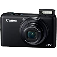 Canon PowerShot S90 10MP Digital Camera with 3.8x Wide Angle Optical Image Stabilized Zoom and 3-Inch LCD (OLD MODEL) Basic Facts Review Image