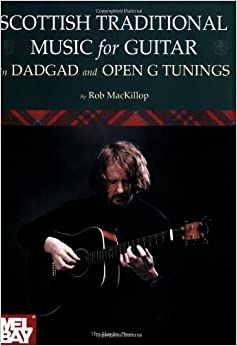 Book Scottish Traditional Music for Guitar in DADGAD and Open G Tunings