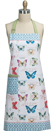 Kay Dee Designs R3501 My Garden Journal Butterfly Garden Chef Apron,