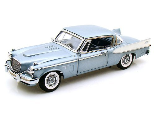 (1958 Studebaker Golden Hawk 1/18 Blue)
