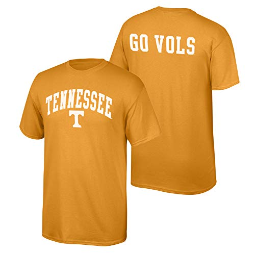 Elite Fan Shop NCAA Men's Tennessee Volunteers T Shirt Team Color Back Tennessee Volunteers Orange XX - Volunteers Tee Tennessee Pack