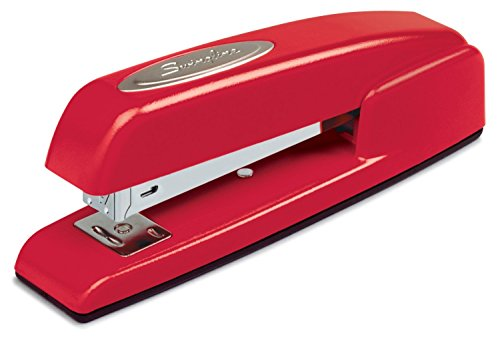 Swingline Staplers, 747, Business, Manual, 25 Sheet Capacity, Desktop, Rio Red, Case of 6