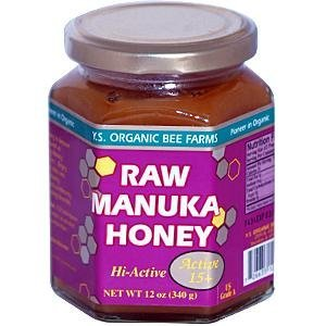 Y.S. Organic Bee Farms, Raw Manuka Honey, 340g by Y.S. Organic Bee Farms by YS Eco Bee Farms