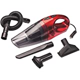 Oshotto- 100W Heavy Duty Car Vacuum Cleaner 12V (Red)