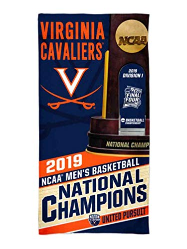 WinCraft Virginia Cavaliers 2019 NCAA Basketball National Champions Spectra Beach Towel