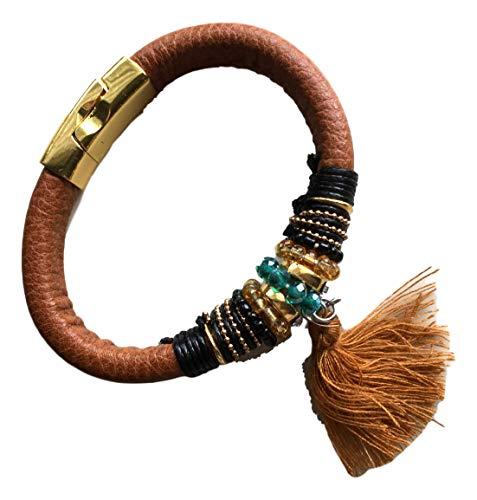 Cherry Bracelets for Women, Unisex Bracelets, Fashionable Bracelets, Magnetic Bracelet Clasps, Fancy Bracelets, Bonus Organza Bag (Kings Ransom) Red