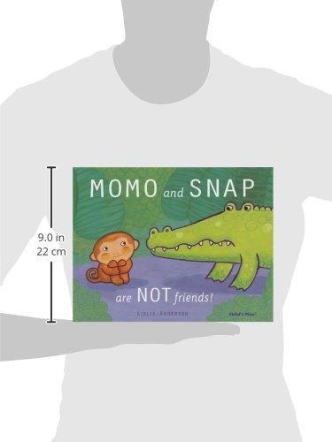 Momo and Snap Are Not Friends (Child's Play Library) by Childs Play Intl Ltd (Image #1)