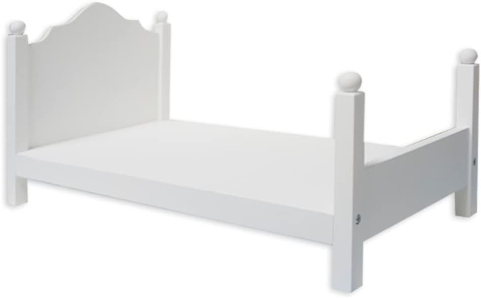 Springfield Wooden Doll Bed - Fits Dolls Up to 18