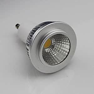 Leedfsw GU10 5W COB 450LM 3000K Warm White Led Spot Lamp Light