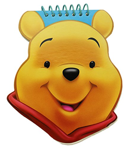 Pooh Notepad - Disney's Winnie the Pooh Face Shaped Spiral Notepad