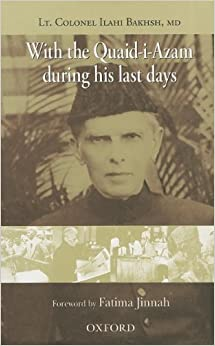 Book With the Quaid-i-Azam during his Last Days