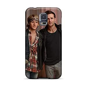 Bumper Cell-phone Hard Covers For Samsung Galaxy S5 With Customized HD Mcfly Band Image AlainTanielian