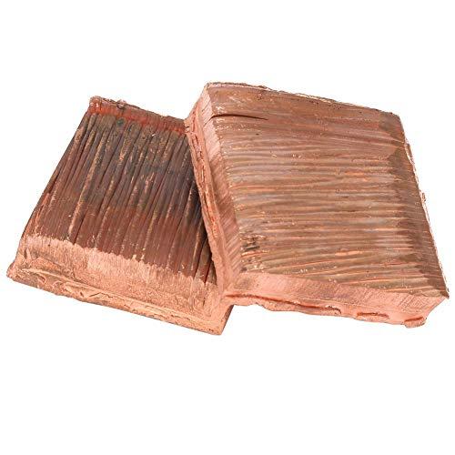 Zerone Copper Plate Flat Bar Stock High Purity Electrolytic Copper Plate Metal Sheet Plate CU99.99% ()