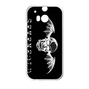 Happy Avenged Sevenfold Cell Phone Case for HTC One M8