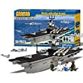 Best Lock 500 Pc Aircraft Carrier Set