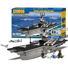 Best Lock 500 Pc Aircraft Carrier Set