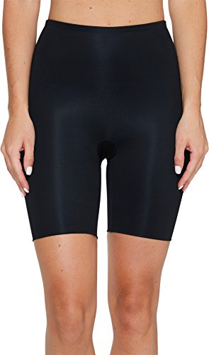 - SPANX Women's Power Conceal-Her Mid-Thigh Short Very Black Medium