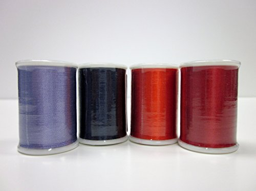 Superior Threads TIRE Brand Silk #30 Embroidery Thread 55 yds Spool Set of 71 Colors 138-01-SET by Superior Threads
