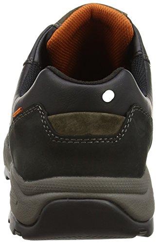 camel active Evolution 27, Sneakers da Uomo Nero (Black - Schwarz (Black/Dk.grey))