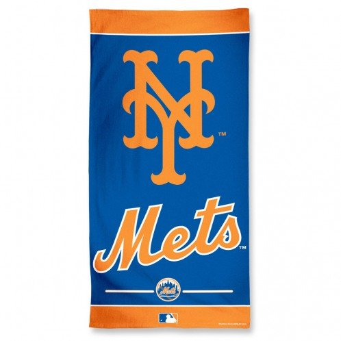 MLB New York Mets A1878315 Fiber Beach Towel, 9 lb/30