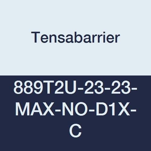 Tensabarrier - 889T2U-23-23-MAX-NO-D1X-C - blue post, 2
