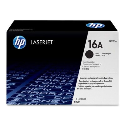 HP Q7516A HP 16A Toner 12 000 Page-Yield Black Inks, Toners & Cartridges at amazon