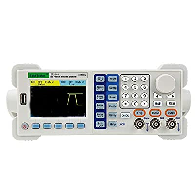 ZGQA-GQA Signal Generator Signal Generator Counter Two-Channel Function/Arbitrary Waveform Generator, ET3340 40MHZ 200-240V Waveform Generator