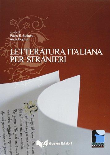 Progetto Cultura Italiana: La Letturatur (English and...