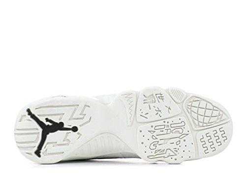 Nike Jordan Retro 9 La All Star Nero / Nero-sommità Bianco (grande Bambino) Nero, Nero-sommità Bianca