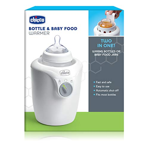 41zpoziMvnL - Two In One Bottle & Baby Food Jar Warmer With Automatic Shut-Off