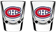 NHL Montreal Canadiens Shot Glass, 2-Pack